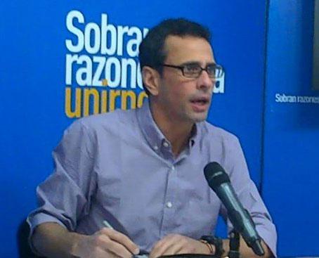 """Capriles asegura que designaciones del CNE es el resultado de un """"gran esfuerzo continuado"""""""