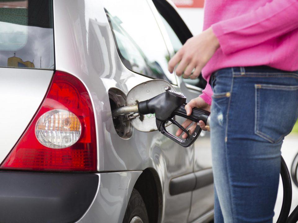 Vehículo gasolina