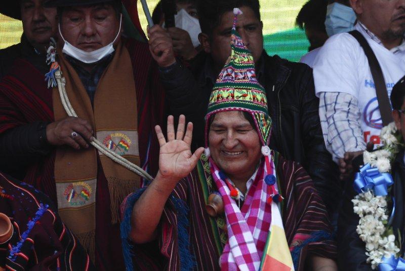 Morales: Estoy contento, me siento animado, fortalecido y con pocos síntomas