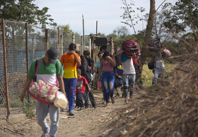 ibmigrantes venezolanos Foto: AP News