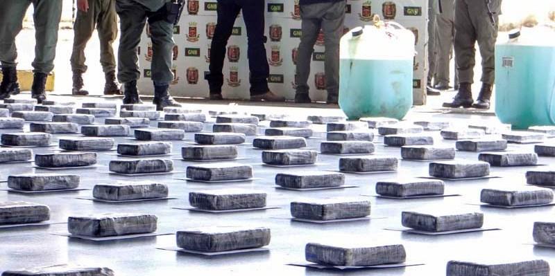 Durante la semana fueron incautados al menos 200 bloques de droga en Falcón