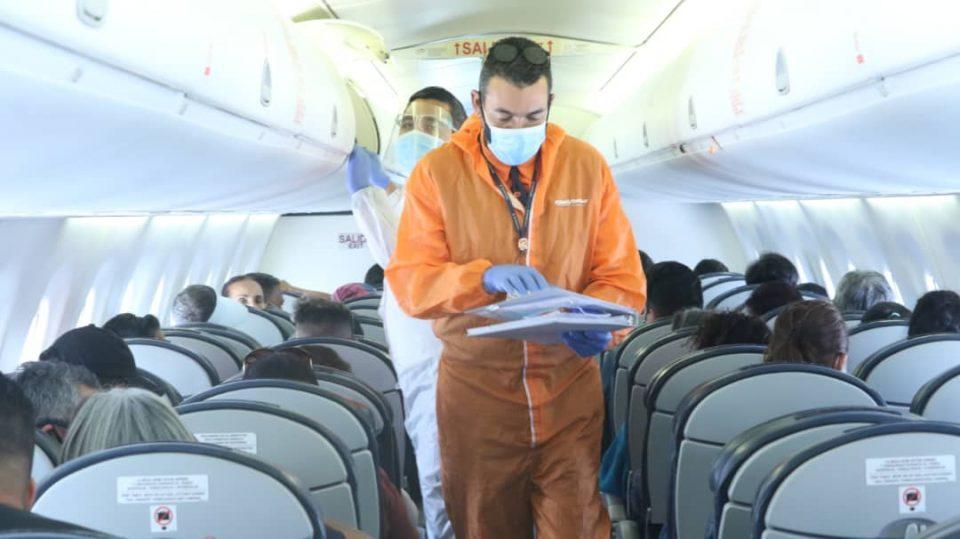86 connacionales retornan desde Ecuador mediante el Plan Vuelta a la Patria