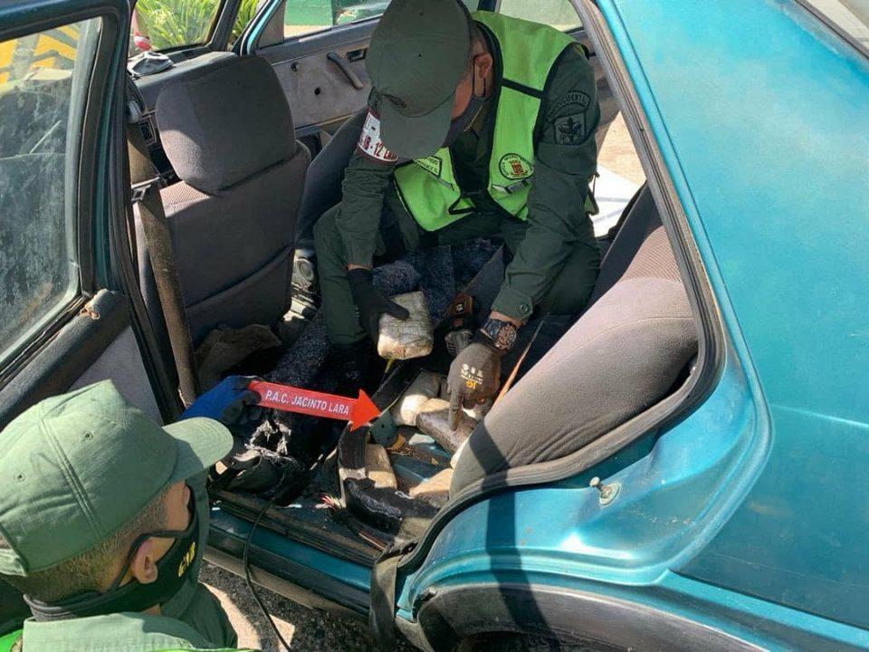 Una persona fue detenida por tráfico de drogas en Lara