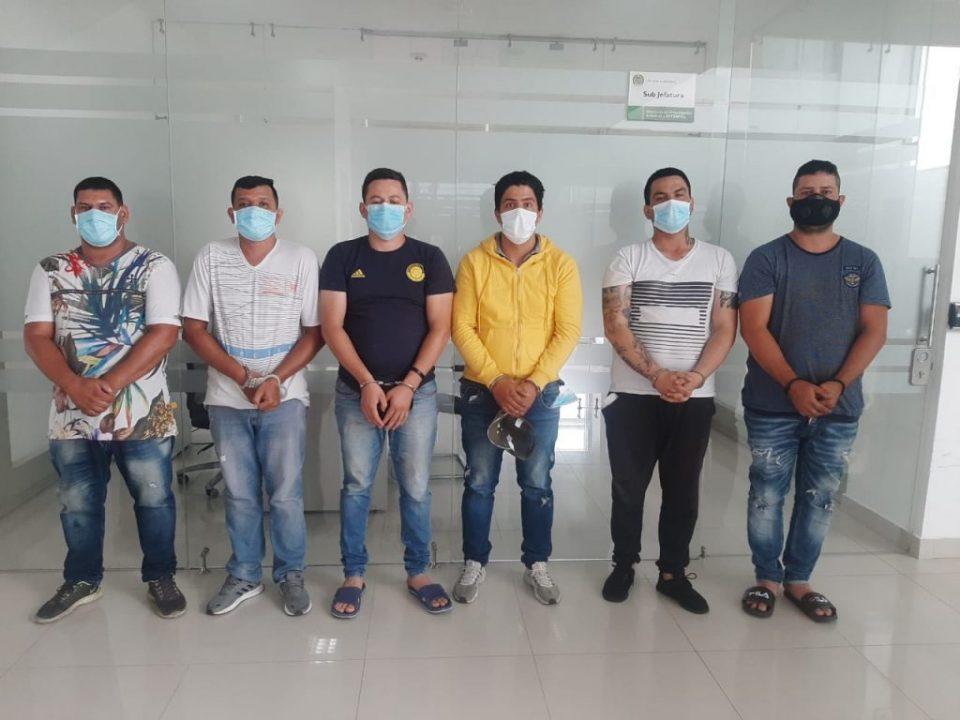 Desmantelan red sicarial que estaría involucrada en el asesinato de 14 personas en frontera colombo-venezolana