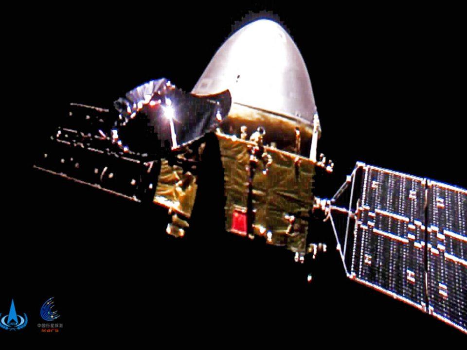 Sonda china entra en órbita de estacionamiento de Marte y se quedará por los próximos tres meses