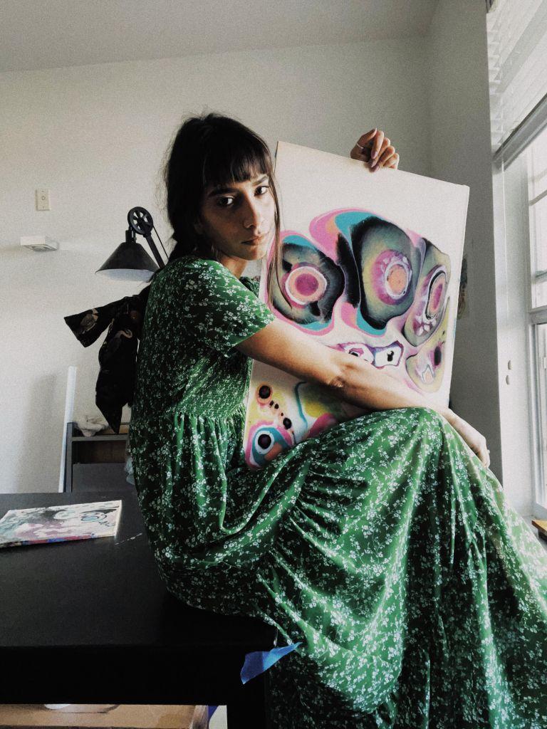 Fabiola Lima, una venezolana en Orlando que impulsa el Fluid Art