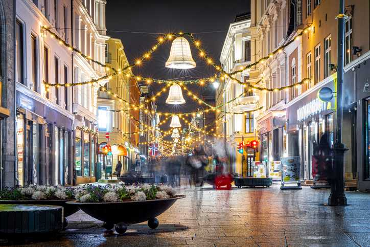 A partir de este lunes las tiendas no esenciales no abrirán en Oslo