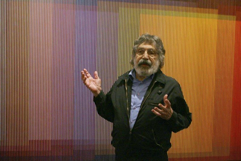 Obras de Carlos Cruz-Diez, representarán a Francia en la Exposición Universal Dubái 2020