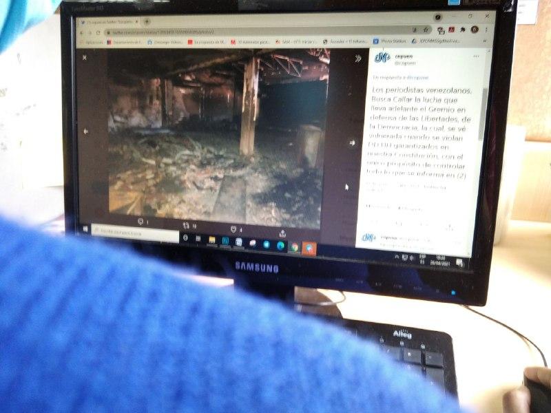 CNP: incendio de nuestra sede en Sucre fue intencional