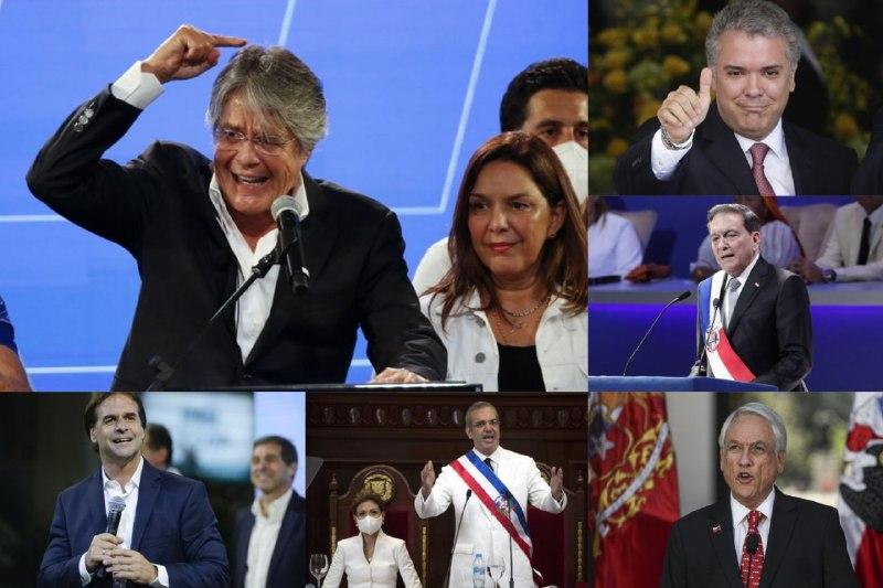 Presidentes felicitan a Lasso por victoria electoral