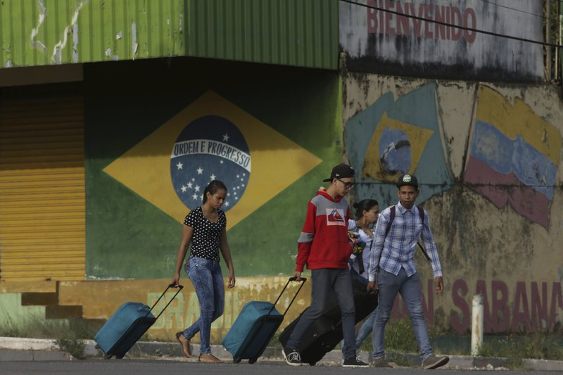 Al menos 50.000 migrantes venezolanos fueron reubicados en ciudades de Brasil