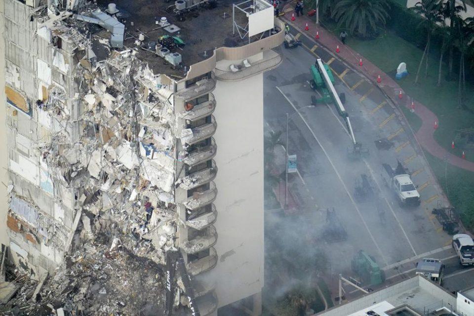 EE.UU. | Muertes por derrumbe de edificio en Miami, ascendió a 11