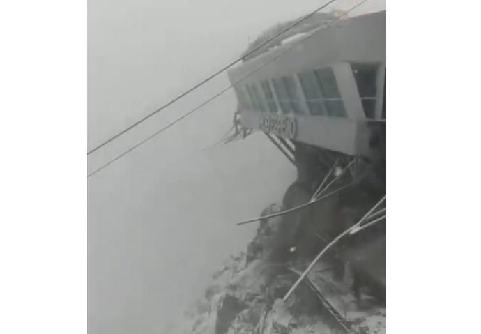 Reportan fuerte nevada en el Pico Espejo, en Mérida (+video)