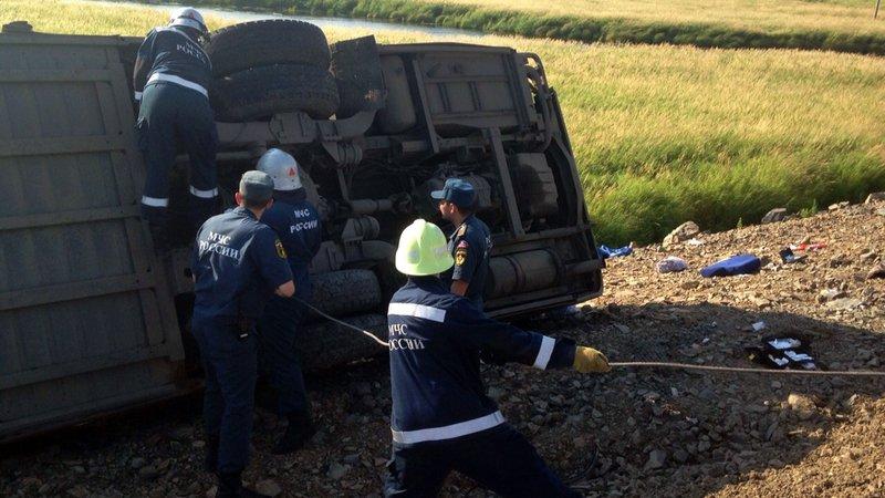 Rusia | Accidente de autobús deja seis muertos y 15 heridos