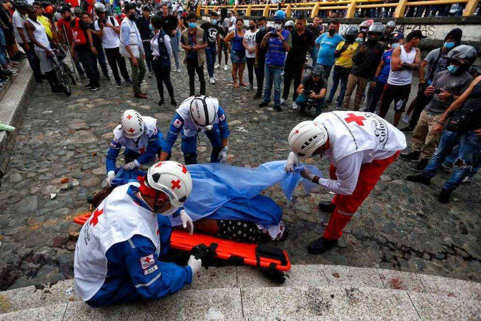 Colombia   Dos manifestantes murieron a tiros en Cali