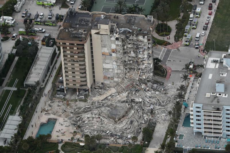 Muertes por derrumbe de edifico en Miami-Dade ascendieron a nueve