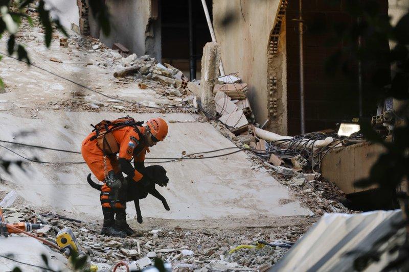 Brasil | Desplome de edificio de Río de Janeiro deja una niña muerta