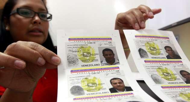 A partir del #14Jun el Saime iniciará jornada de cedulación para nuevos electores