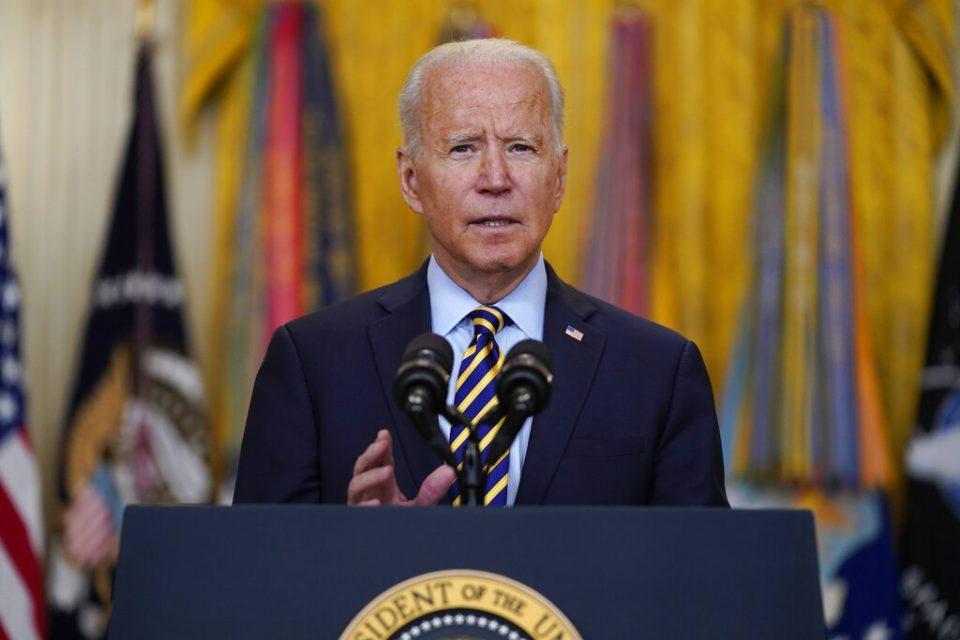 Biden cumplió su primer semestre como presidente de EE.UU.