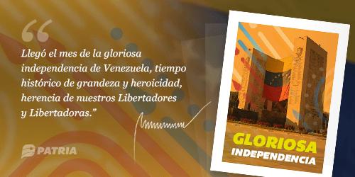 """Inició la entrega bono """"Bono Gloriosa Independencia"""" a través de la plataforma Patria"""