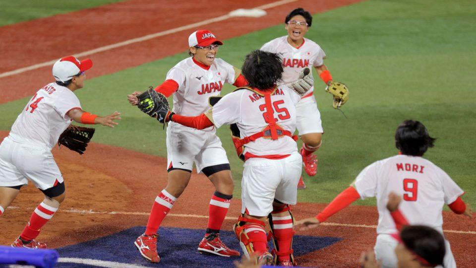 Japón softbol1