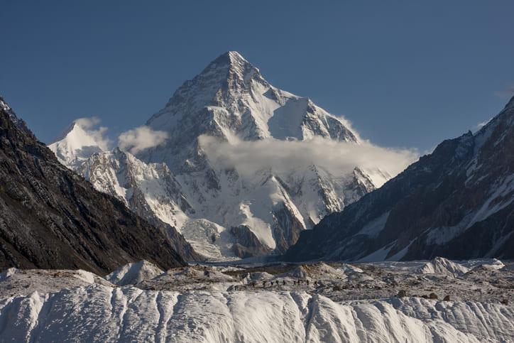 Muere un montañero escocés cuando intentaba escalar el K2
