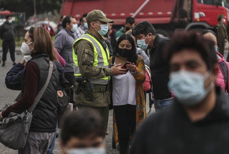 Santiago de Chile vive su primer fin de semana sin cuarentena desde marzo