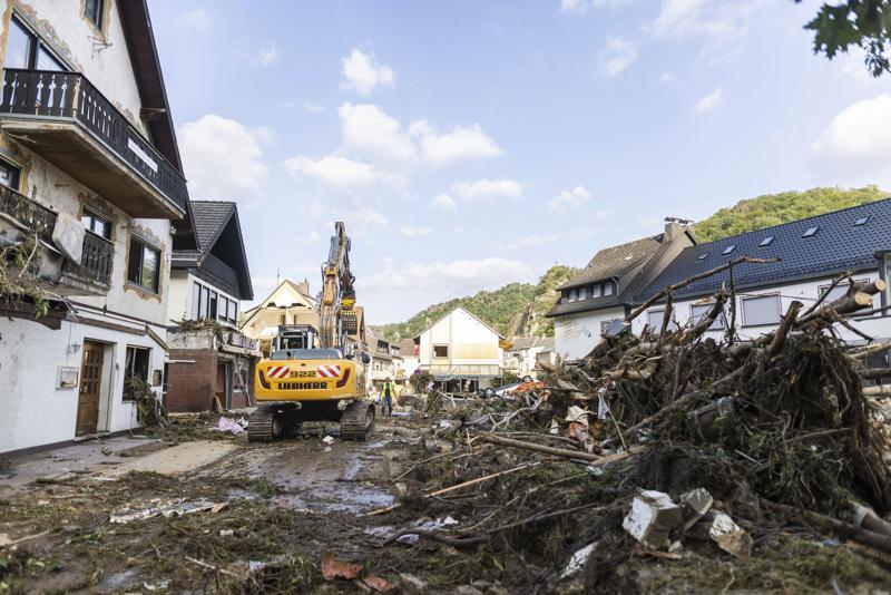 Gobierno alemán aprobó ayudas económicas para afectados por inundaciones