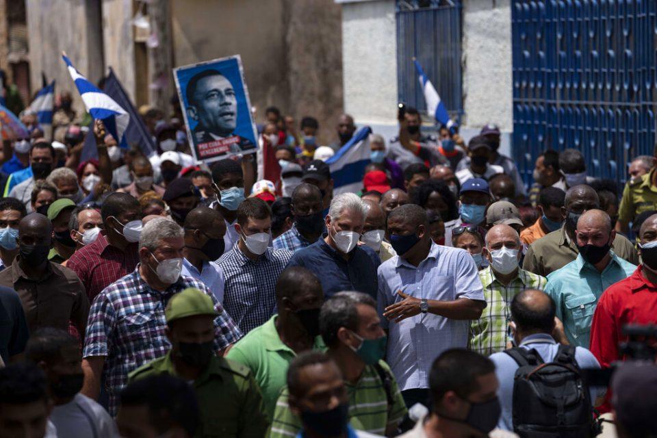 UE condenó la detención de opositores y periodistas durante protestas en Cuba