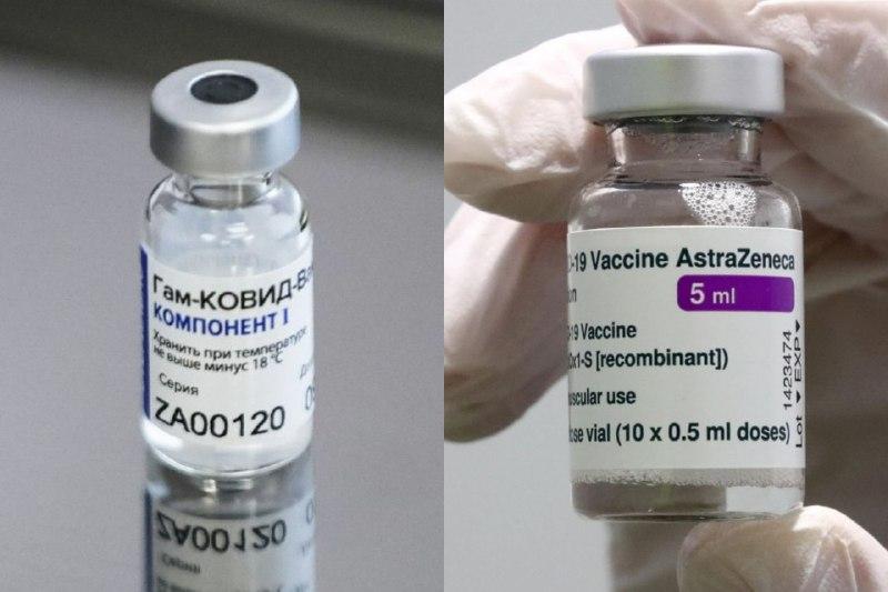 vacuna Sputnik V y AstraZeneca-ap