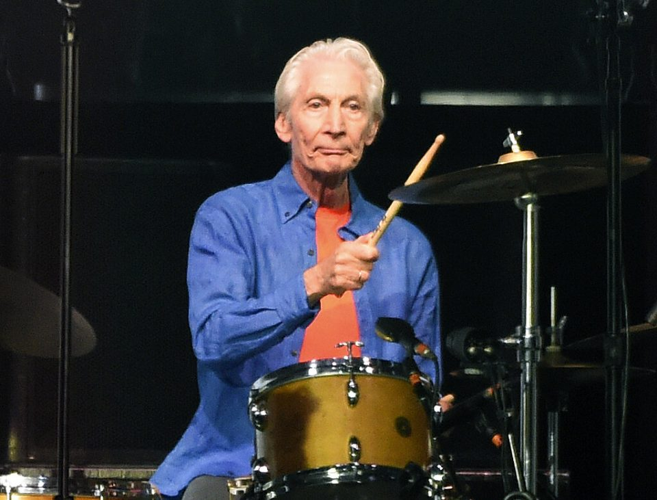 Los Rolling Stones homenajearon a su difunto baterista, Charlie Watts