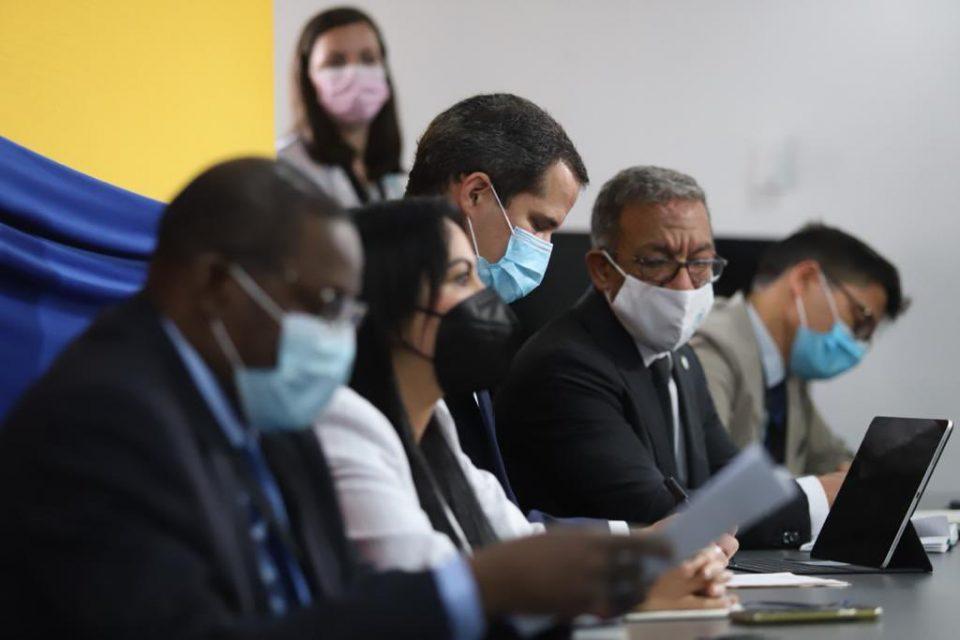 Guaidó se reúne con la Unión Interparlamentaria para tratar violaciones de DD.HH.