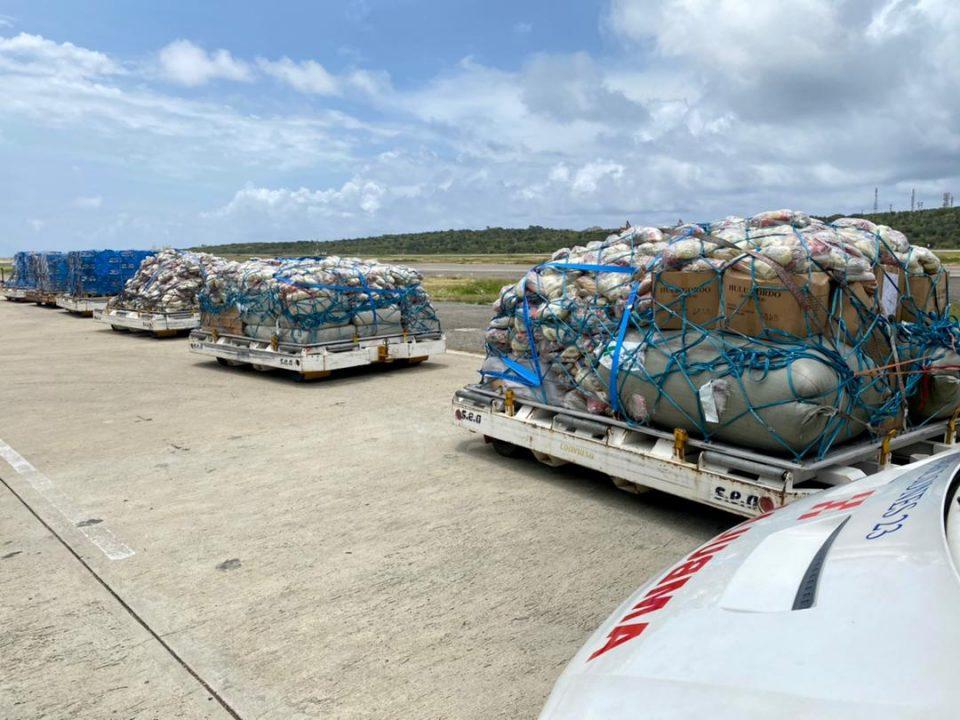Venezuela envió un nuevo cargamento con ayuda humanitaria a Haití