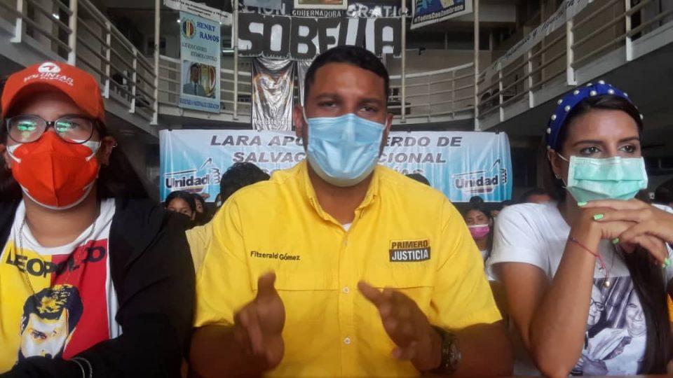 En Lara tres partidos de la MUD proponen a Sobella y Marquina a la Gobernación y Alcaldía de Iribarren