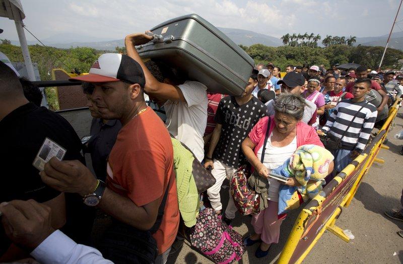 ONU: aumenta a 6 millones la cifra de migrantes venezolanos