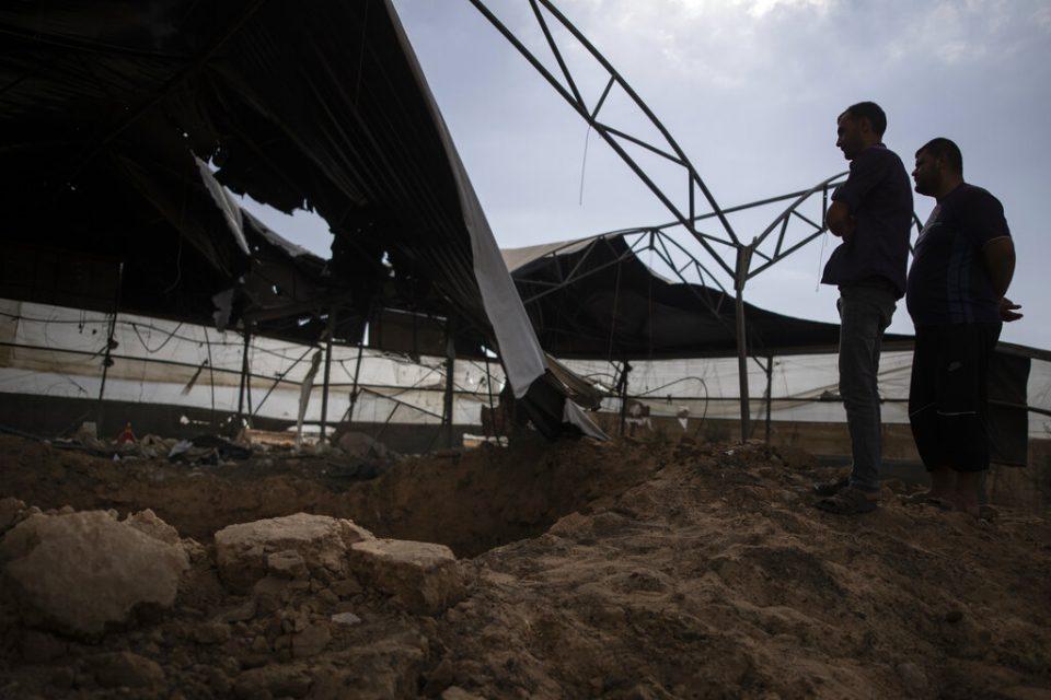 Aviación israelí atacó objetivos en la Franja de Gaza