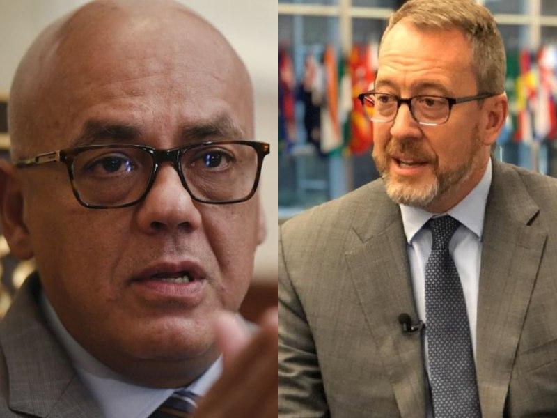 Jorge Rodríguez a James Story: agarre a sus perritos falderos y tómense un tecito de valeriana