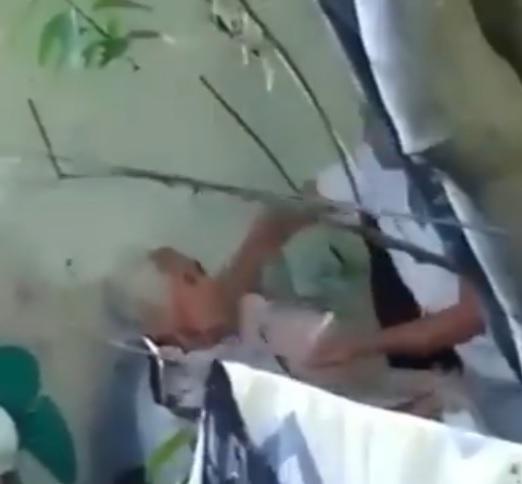Nora Bracho publica video sobre maltrato de adulto mayor