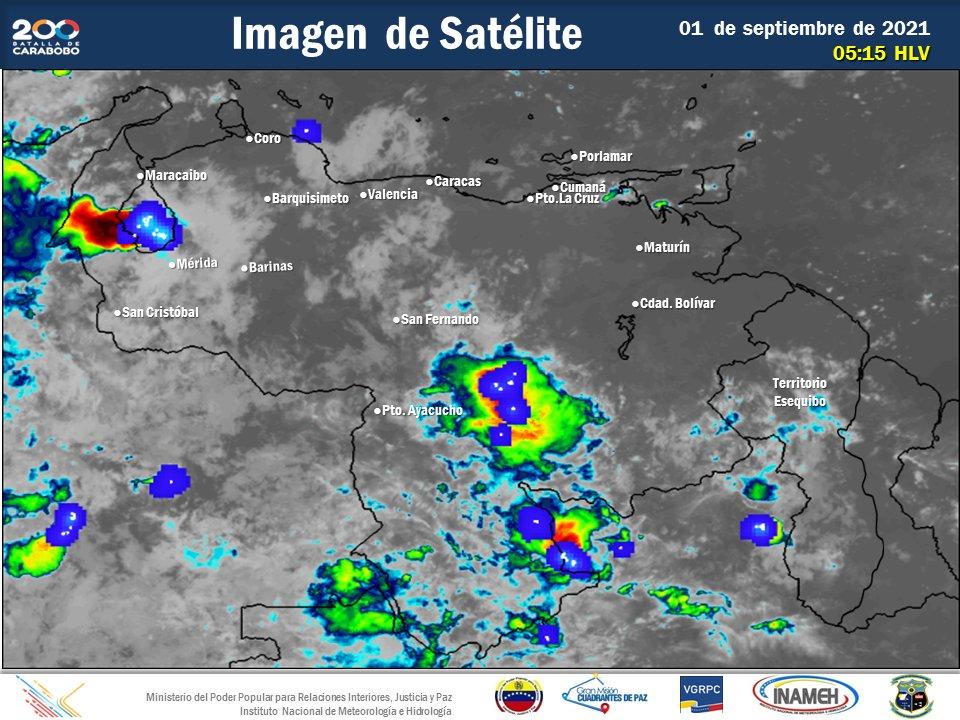 Inameh pronostica precipitaciones de intensidad variable por onda tropical 41
